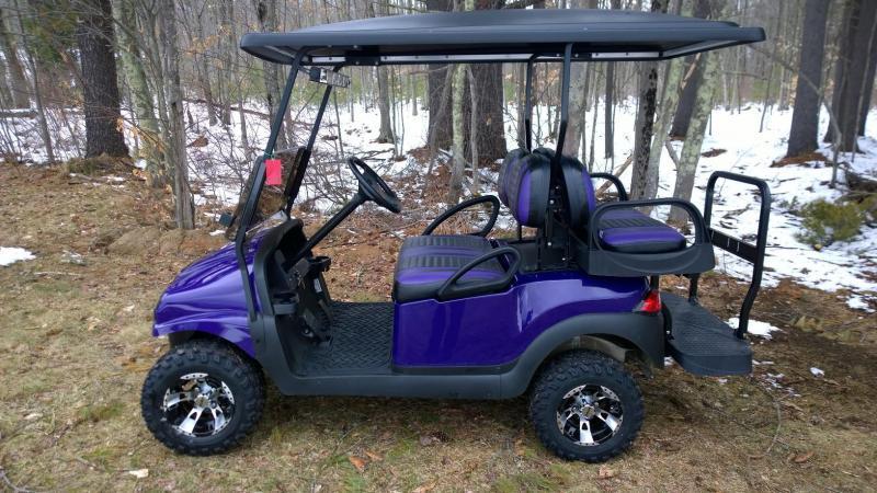 CUSTOM Precedent Metallic Purple Phantom 4 pass Lifted