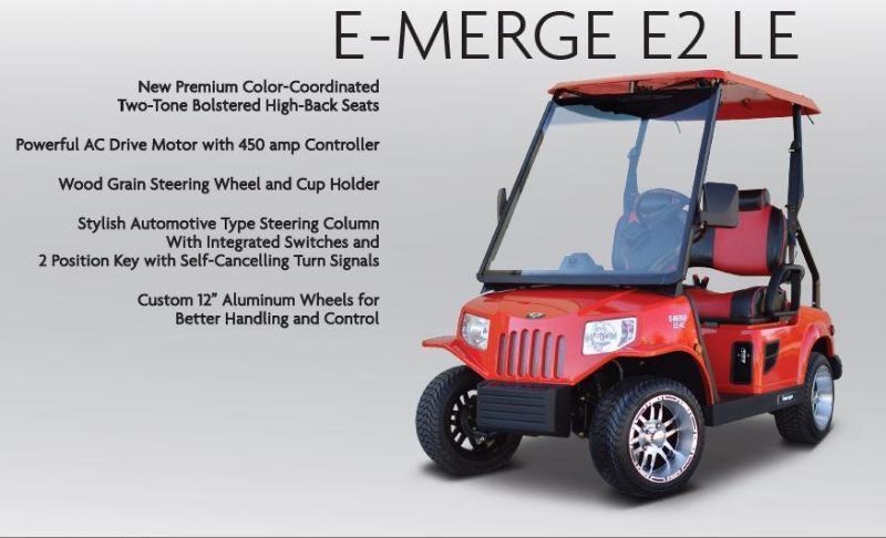 Tomberlin E-MERGE E2 LE Street Legal LSV Golf Cart | Kingstons Karts on