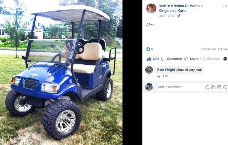NEW Hammerhead Offroad GTS 150 Teen/Adult Go Kart BLUE