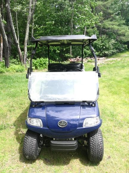 SAVE $1000 Evolution STREET LEGAL LSV 4 pass 25MPH NAVY BLUE GOLF CAR