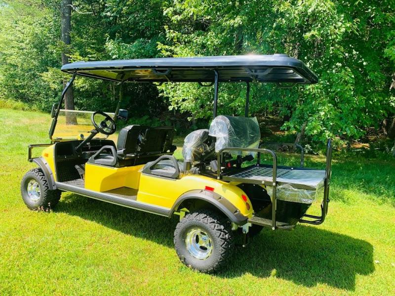 SAVE $2000 Street Legal 25MPH Evolution Forester 6 pass LIMO YELLOW