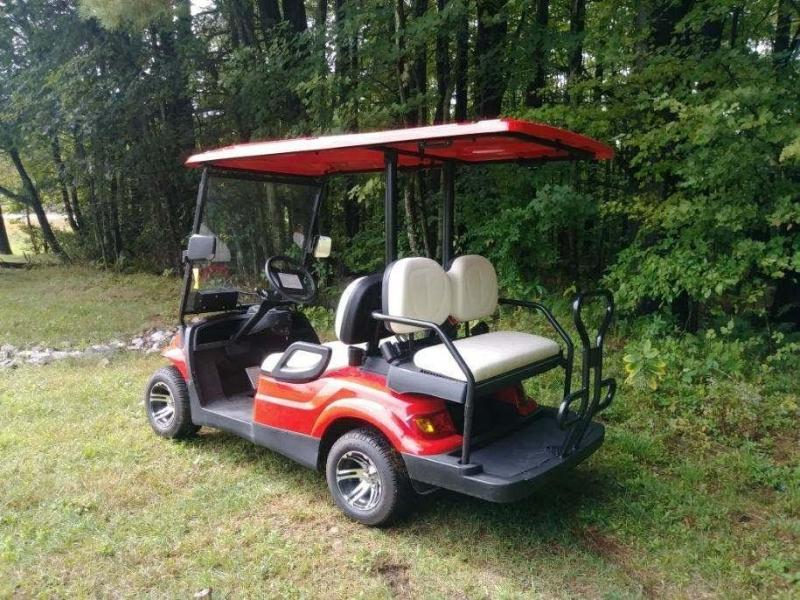 SAVE $2000 NEW Advanced Electric 25 MPH 4 pass Street Legal Golf Car