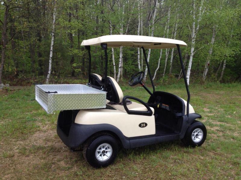 Club Car Precedent with Utility Box-Electric Golf Cart