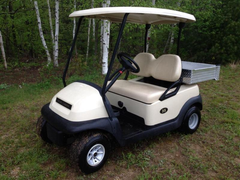 Club Car Precedent with Utility Box-Electric Golf Cart