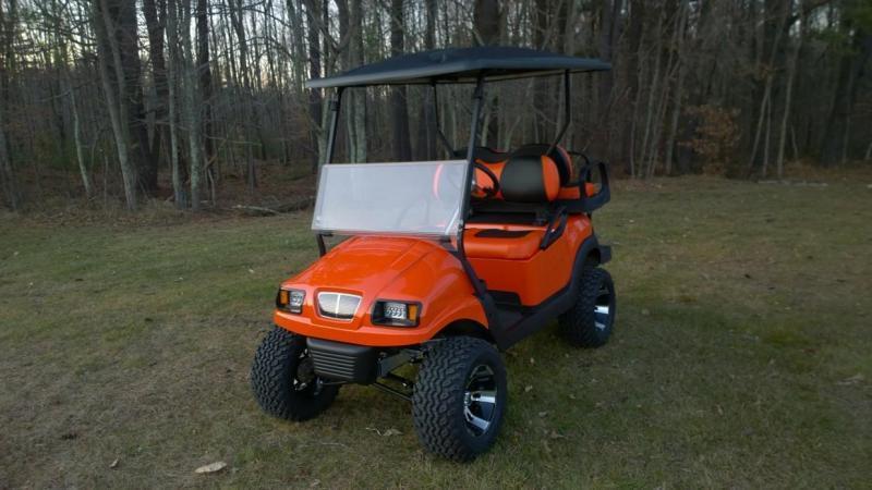 Club Car Precedent Metallic Black Phantom Custom Golf Cart
