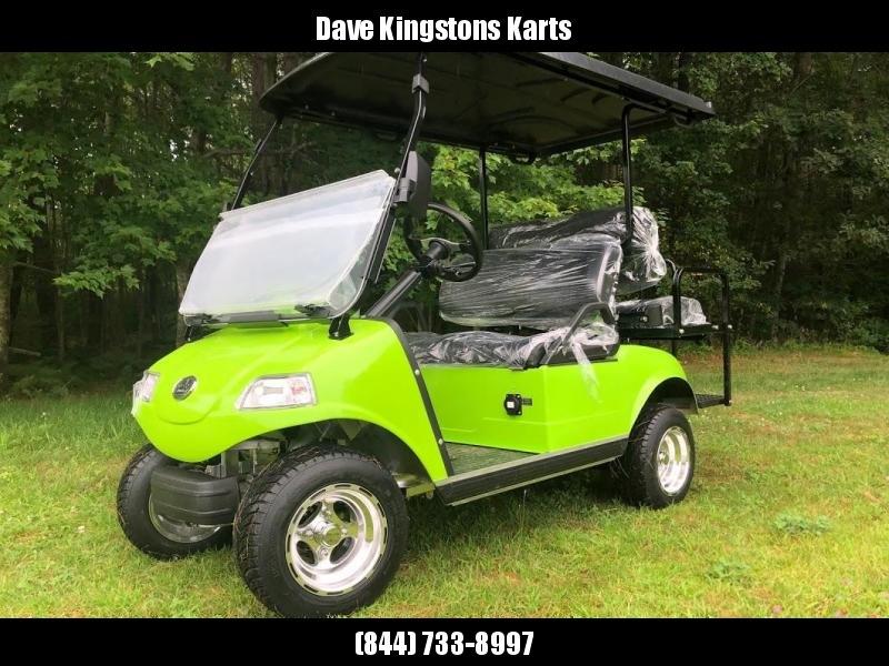 SAVE $1000 NEW Evolution 4 pass 22MPH NEON GREEN GOLF CAR