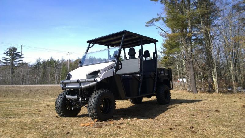 2018 American Land Master CREW4X EFI 4WD 4 pass CREW CAB