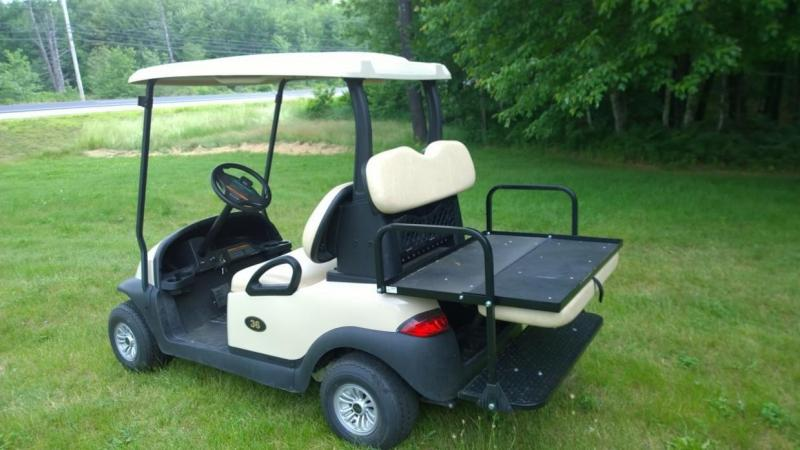 2014 Club Car Precedent 4 Pass Elect Golf Cart 2017 Batteries