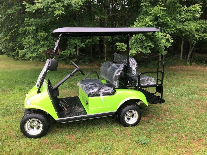 SAVE $1000 Evolution STREET LEGAL LSV 4 pass 25MPH NEON GREEN GOLF CAR