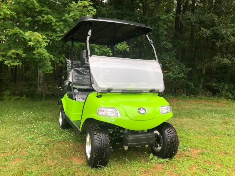 SAVE $1000 Evolution STREET LEGAL LSV 4 pass 25MPH NEON GREEN GOLF CAR