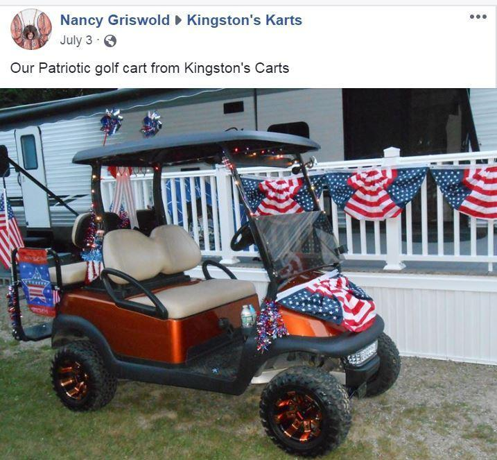NEW HJS Big Horn 200GVX UTV 4 p GAS Golf Cart w/ flatbed BLUE ... Golf Cart Horn On Html on