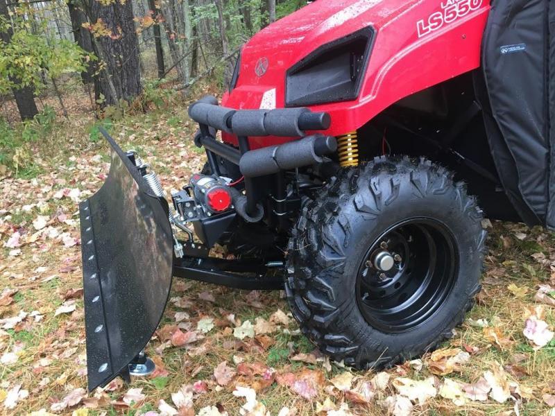 2019 American LandMaster LS677EFI 4WD UTV PLOW-ENCLOSURE-POLY BOX-RED