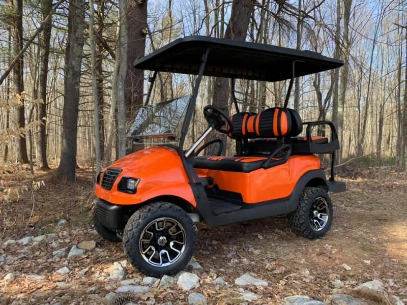 Metallic Orange Phantom Club Car Precedent Harley Davidson colors NICE!
