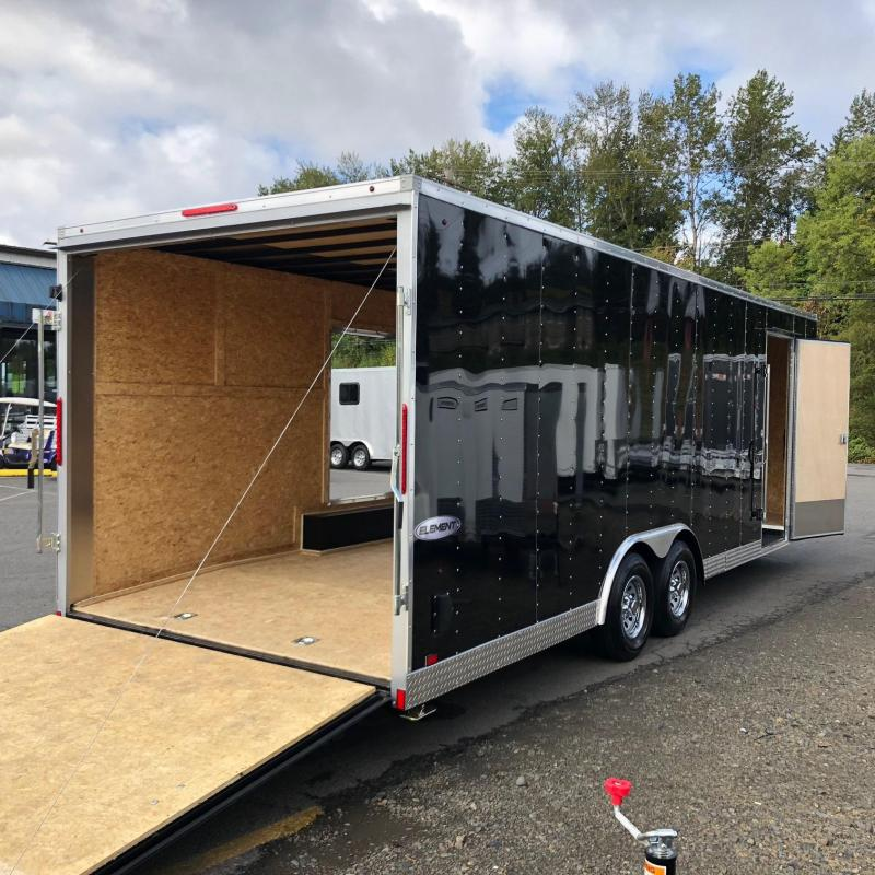 2019 Look Trailers 8.5 X 24' ELEMENT WEDGE Car / Racing Trailer