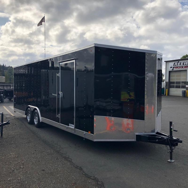 2019 Look Trailers 8.5 X 24' ELEMENT WEDGE Car / Racing Trailer