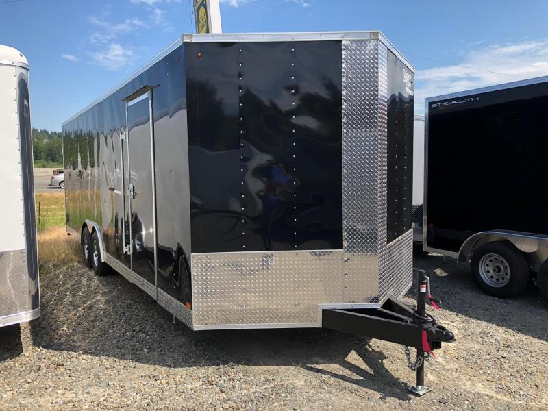 2019 Look Trailers ELEMENT WEDGE V-FRONT Car / Racing Trailer