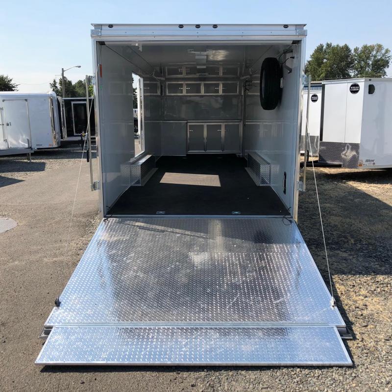 2019 Wells Cargo RFRT85X2825 Car / Racing Trailer