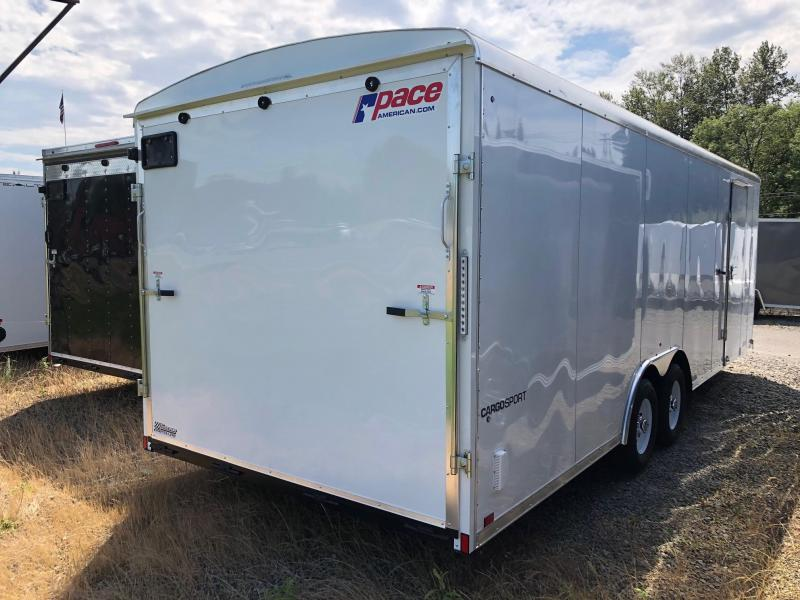 2018 Pace American CARGO SPORT ROUND TOP Car / Racing Trailer
