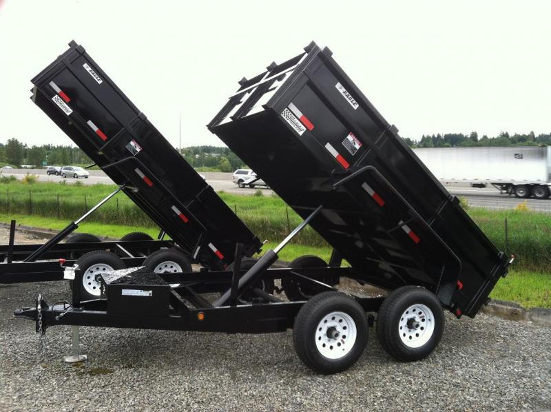 2018 Eagle Trailer Medium Duty Dump Dump Trailer