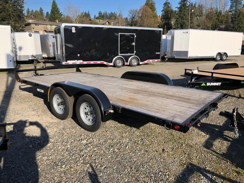 2017 Eagle Trailer Car Trailer Flatbed Trailer