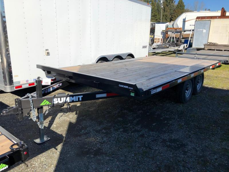 2019 Summit CASCADE CDO8520TA3 Flatbed Trailer