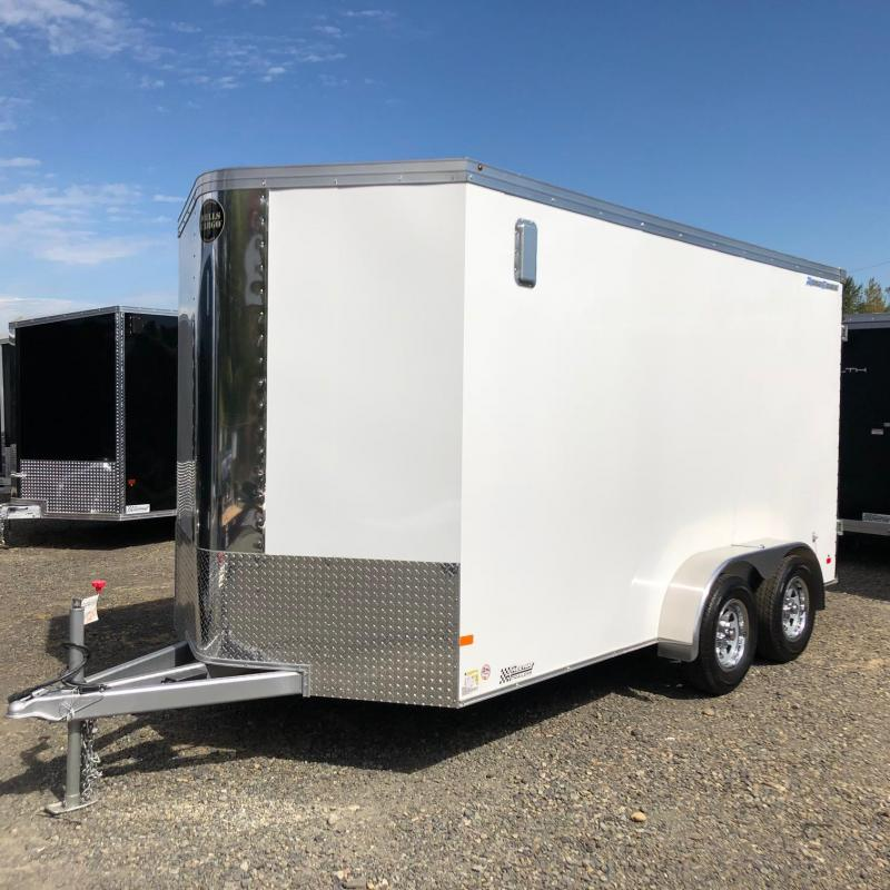2016 Wells Cargo RFV7X142 Enclosed Cargo Trailer