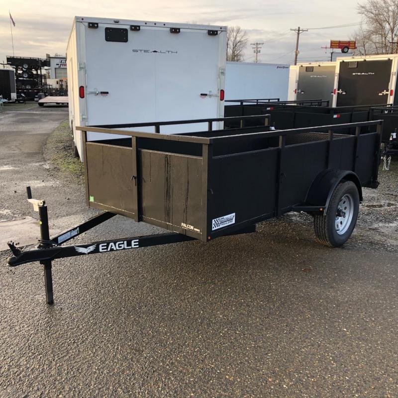 2019 Eagle Trailer FLS408SA Utility Trailer