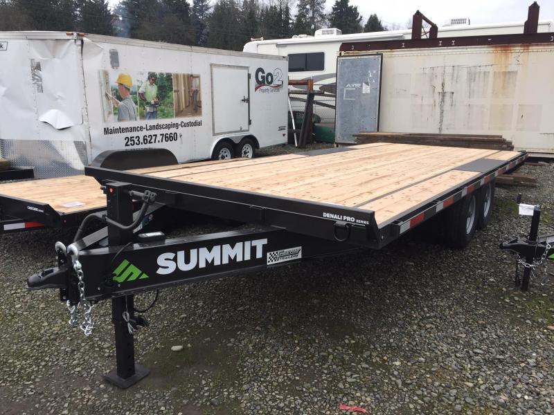 2019 Summit DENALI PRO DPDO8520TA5 Flatbed Trailer