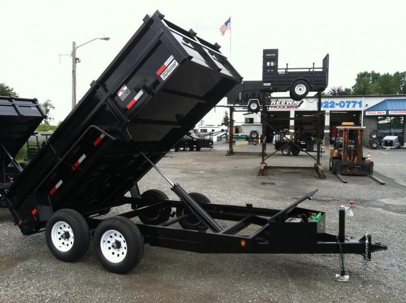 Eagle Trailer ED710TA3-RAMPS Dump Trailer