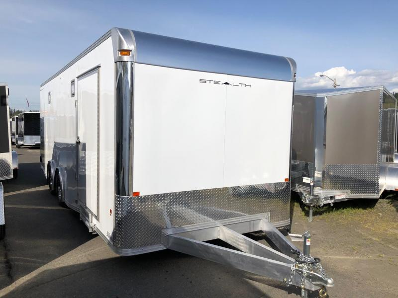 Alcom-Stealth Trailers C8X24SCH-IF Car / Racing Trailer