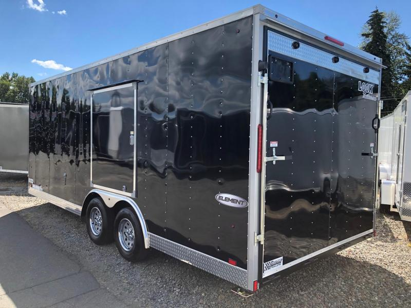 2019 Look Trailers ELEMENT V-NOSE Car / Racing Trailer