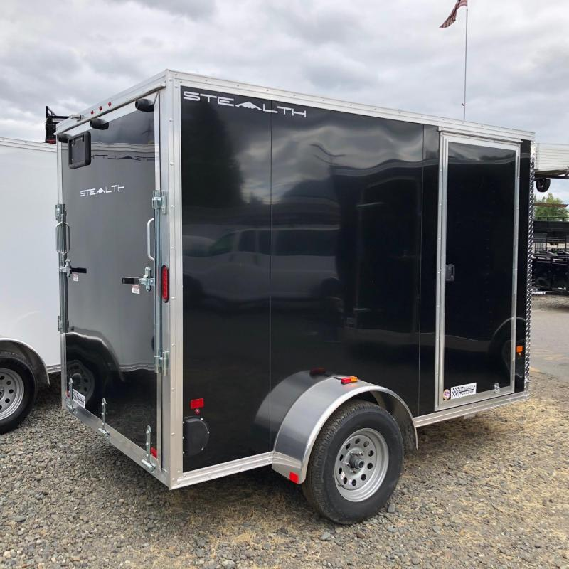 Alcom-Stealth C6X10S-IF Enclosed Cargo Trailer