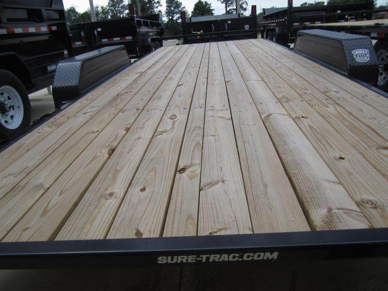 2019 Sure-Trac 7 x 20 Tilt Bed Car Hauler  10k