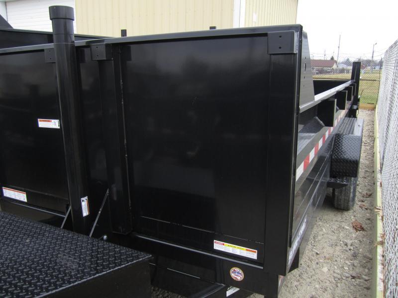 2019 Sure-Trac 82 IN X 16 LP 14K Telescopic Dump