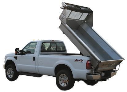 2019 DumperDogg 8' STAINLESS STEEL DUMPER Truck Bed