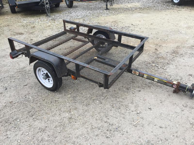 2012 Carry-On 4X6 TILT BED USED AS/IS Utility Trailer
