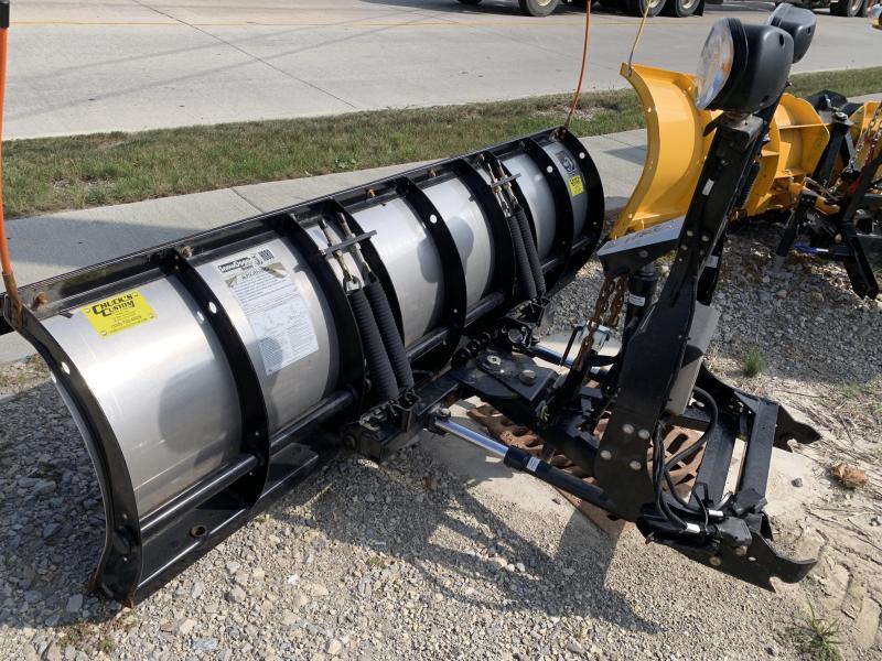 USED SNOWDOGG HD80 8' STAINLESS STEEL SNOWPLOW