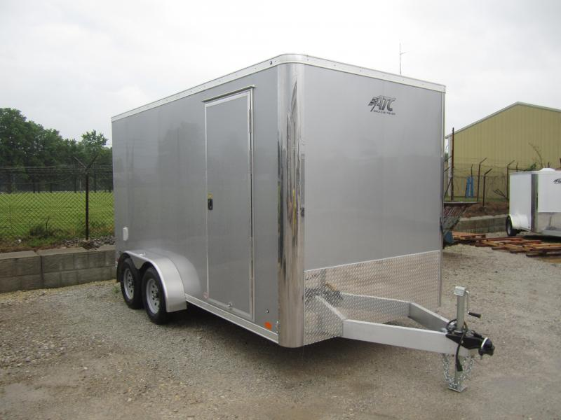 2019 Aluminum Trailer Company 7X14 ATC RAMP DOOR Enclosed Cargo Trailer in Ashburn, VA