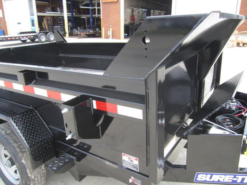 Sure-Trac 72 IN x 10 LProfile 10K Single Ram Dump