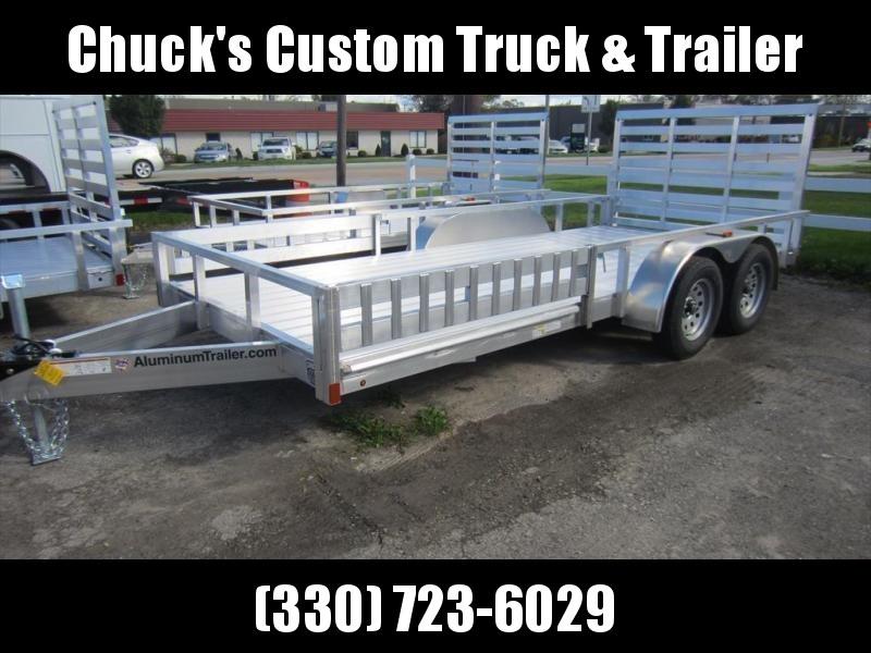 2019 ATC 7 X 16 Aluminum ATV Trailer w/ Removable Sides