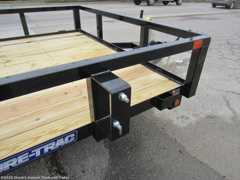 2018 Sure-Trac 6 X 10 Tube Top Utility Trailer