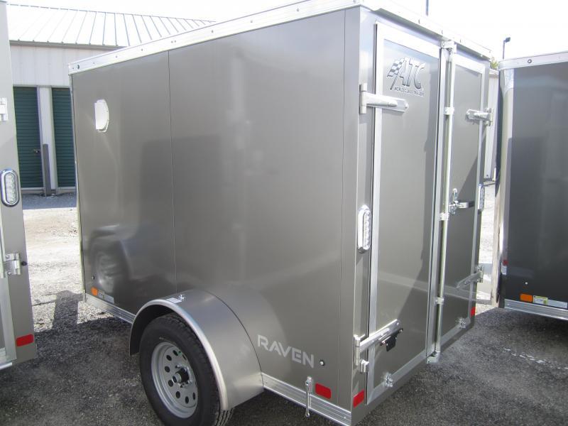 ATC 5x8' cargo with swing doors Enclosed Cargo Trailer