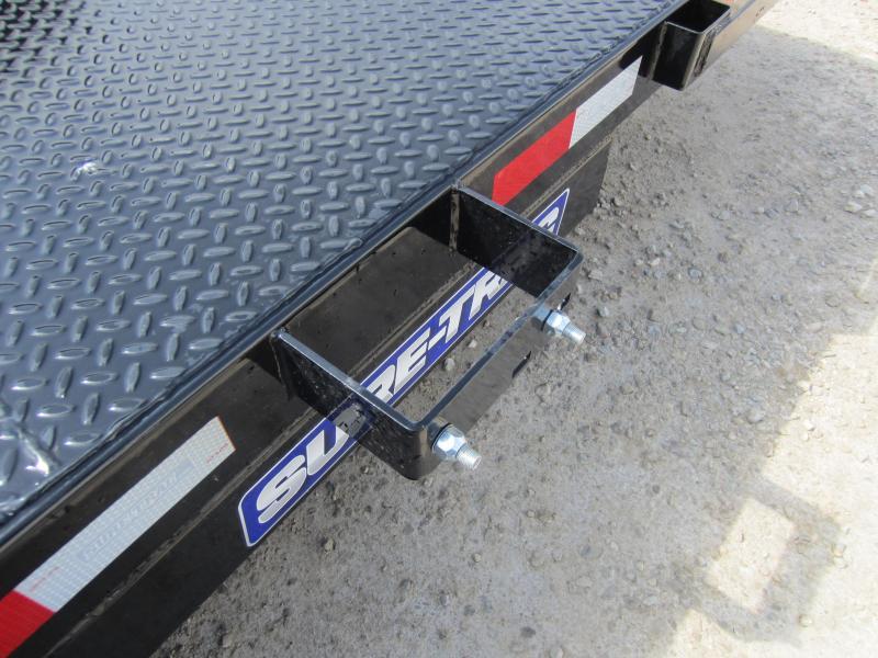 2018 Sure-Trac 7 x 18 Steel Deck Car Hauler 7k