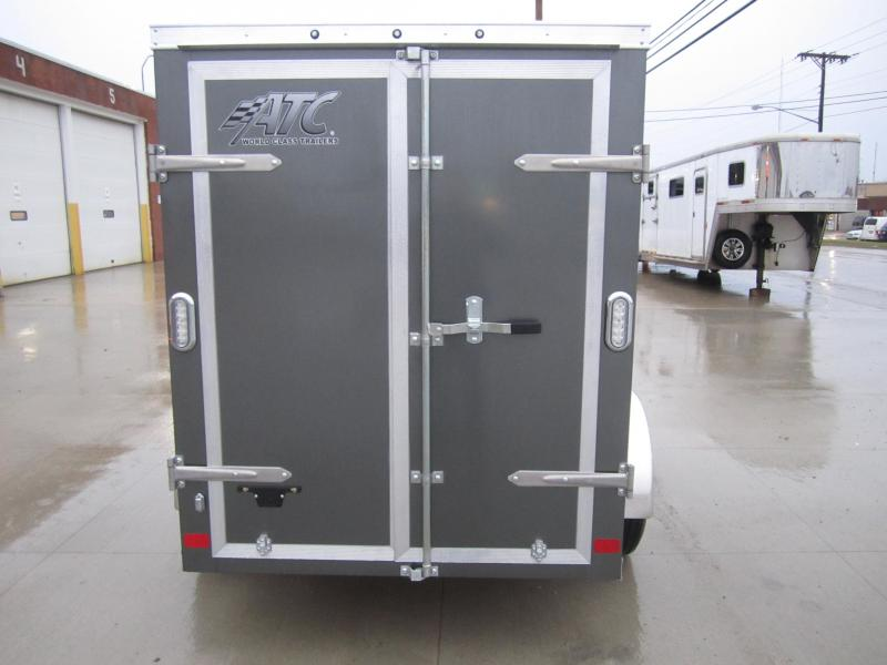 ATC 5x8' cargo with swing doors Enclosed Cargo Trailer