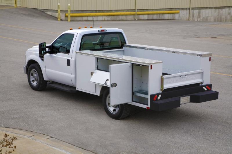 CM STEEL SERVICE BODY 98/78 VVSS Truck Bed