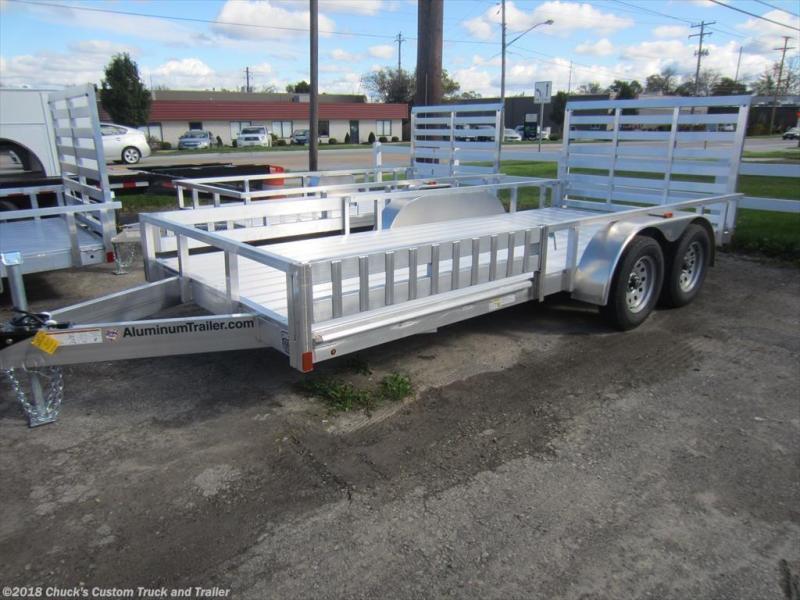 2018 ATC 7 X 16 Aluminum ATV Trailer w/ Removable Sides