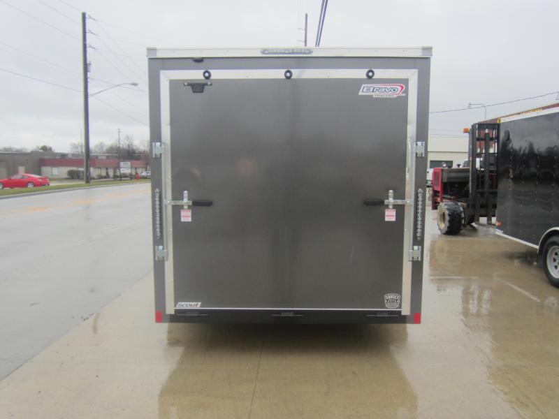 2019 Bravo Trailers 7X12 RAMP DOOR Enclosed Cargo Trailer