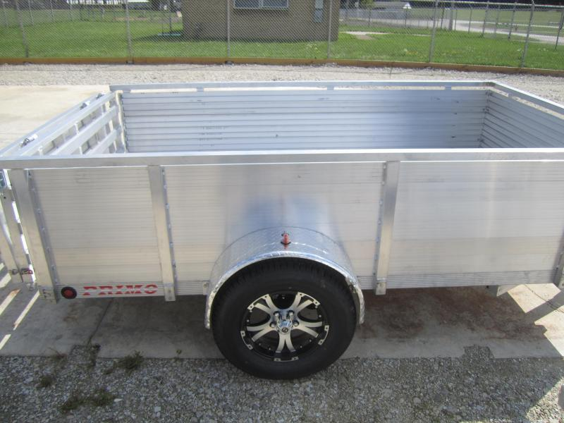 "2020 Primo 6'X10' ALL ALUMINUM 30"" HIGH SIDES Utility Trailer"