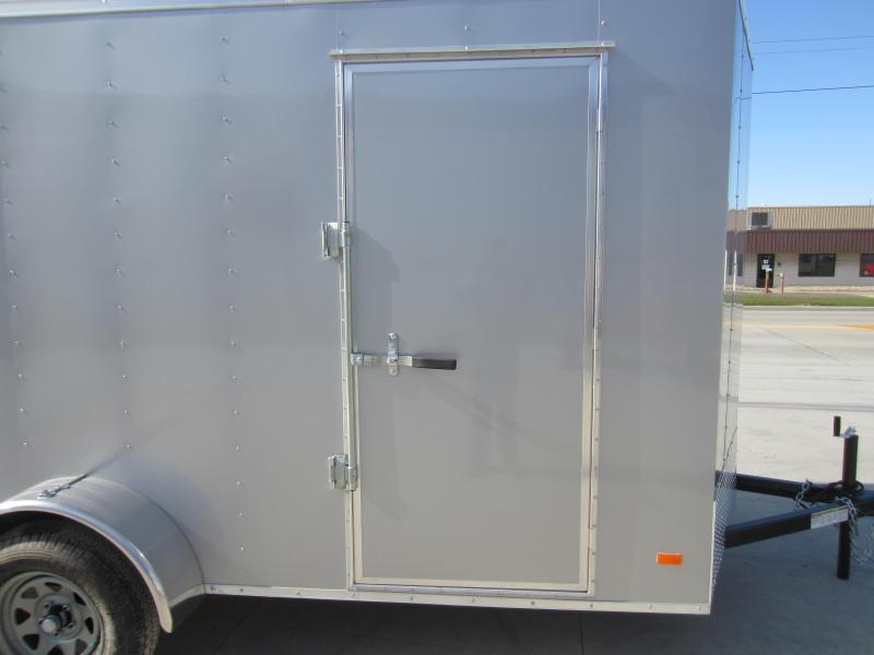 2018 Bravo Trailers 6X12 HERO RAMP DOOR Enclosed Cargo Trailer