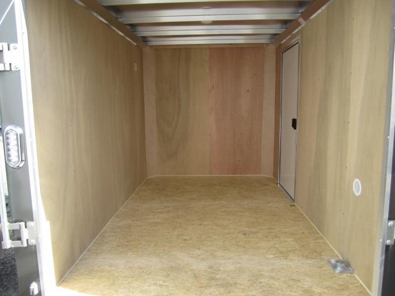 Aluminum Trailer Company 6X10 ALUMINUM RAMP DOOR Enclosed Cargo Trailer